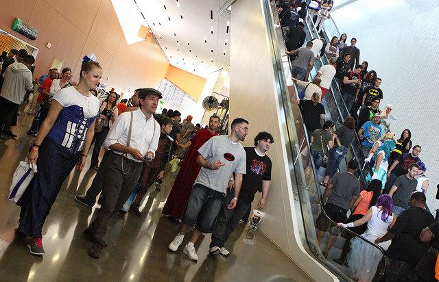 Fans at Dallas Comic Con Fan Days