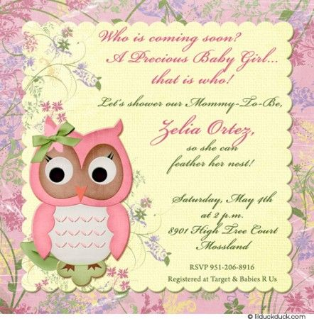 Whoooos Coming Soon Planning Your Owl Themed Baby Shower GenPink