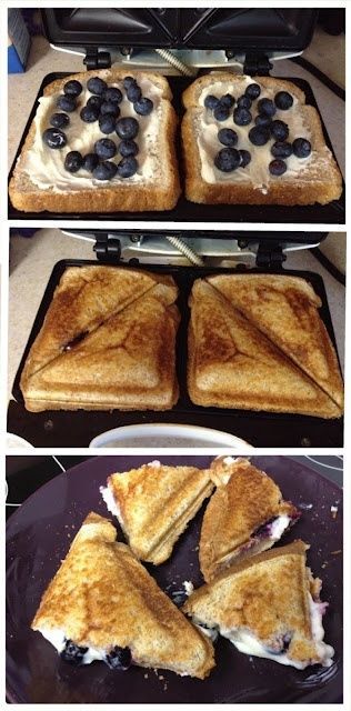 EEBlueberry Breakfast Grilled Cheese