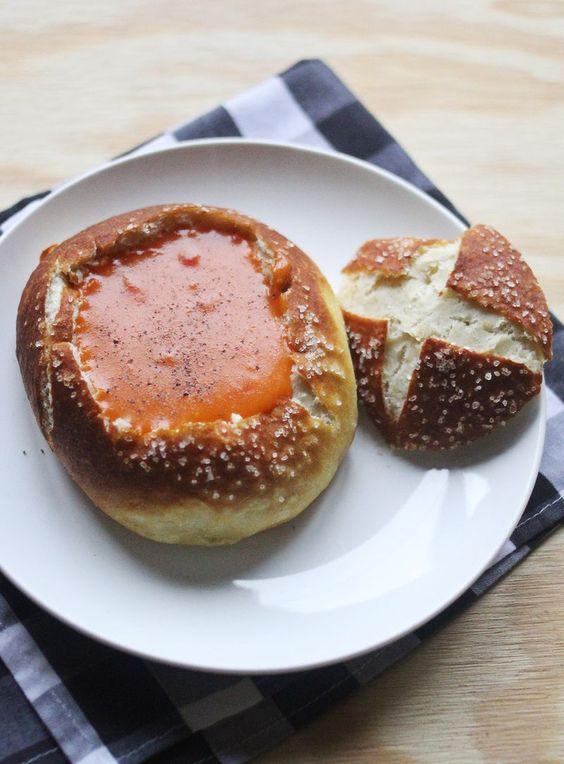 EEEasy Pretzel Bread Bowls