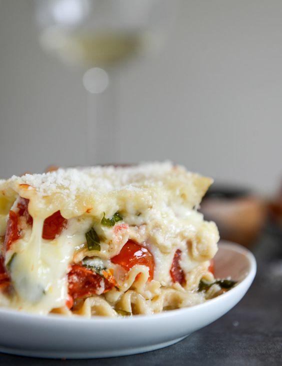 EEWhite Pizza Lasagna