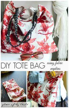 Napkin Tote Bag