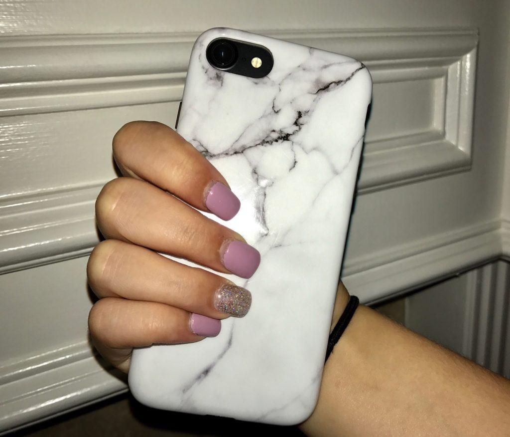 marble phone case via genpink.com