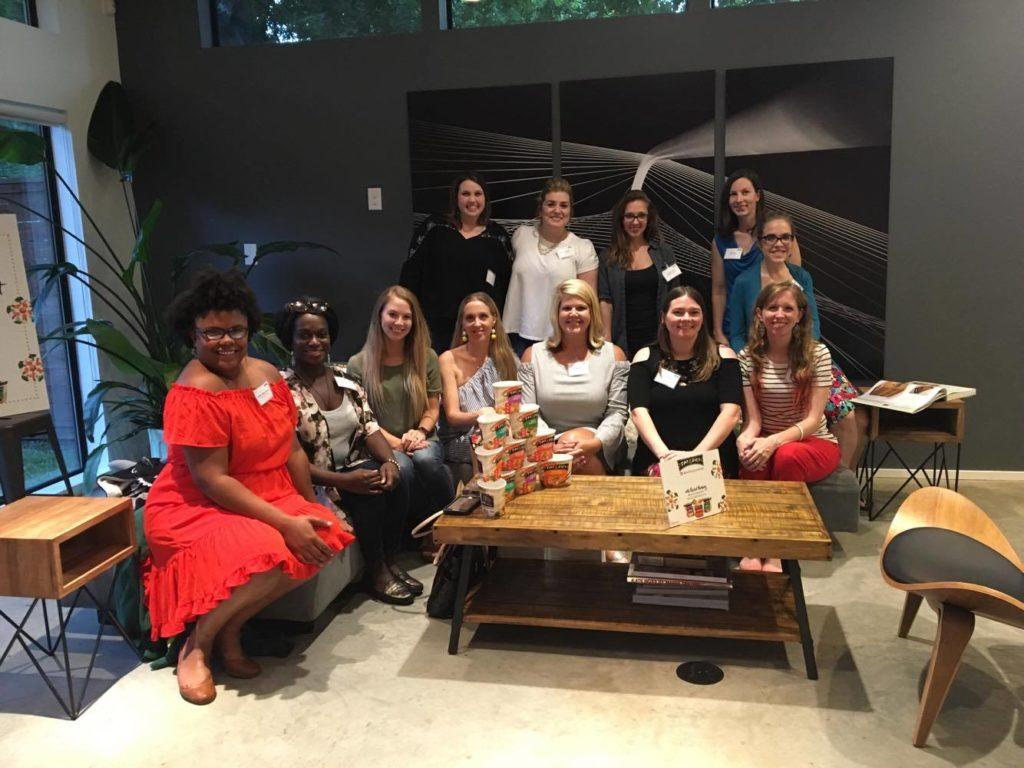 Dallas Bloggers at Tai Pei event