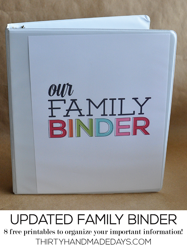 Our Favorite Printables to Keep Your Life Organized! – GenPink